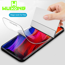 WK Full Coverage Hydrogel Screen Protector For Xiaomi 8 Anti Scratch Fingerprint Full Glue Protective Soft film For Xiaomi 8 SE