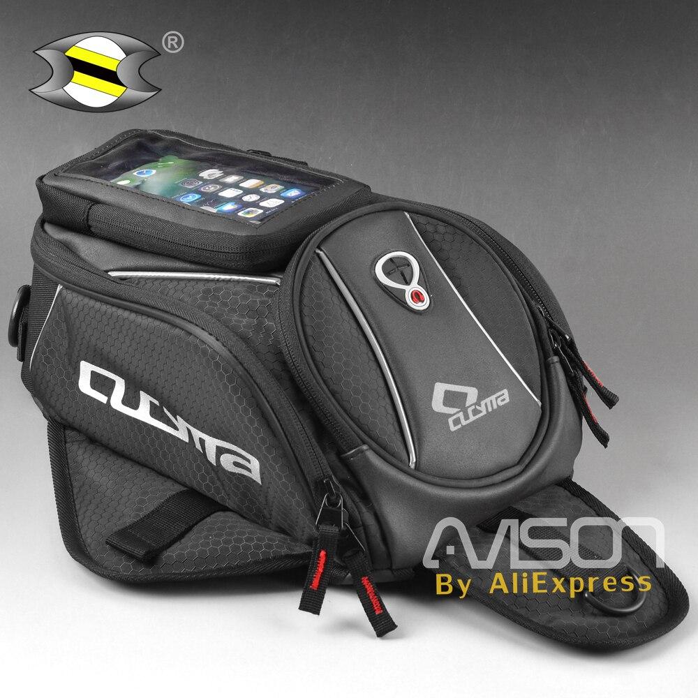 все цены на Motorcycle tank bag oil fuel bag motorbike black men's messenger bag handbag universal multifunction Navigation mobile ph онлайн
