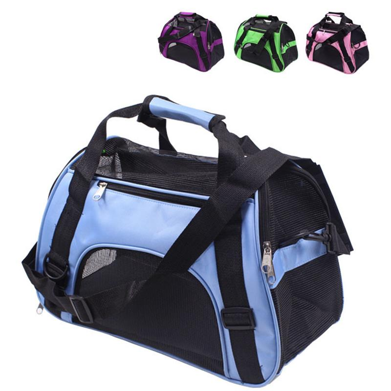Dog Breathable Backpack Portable Carriers Folding Fashion Pet Outside Bag Cat Puppy Outgoing Travel Handbag