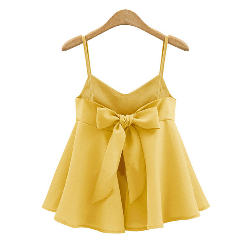 5XL-Backless-Cropped-Tops-Women-Bow-Sexy-Camis-Tops-Crop-V-Neck-Summer-Shirts-Female