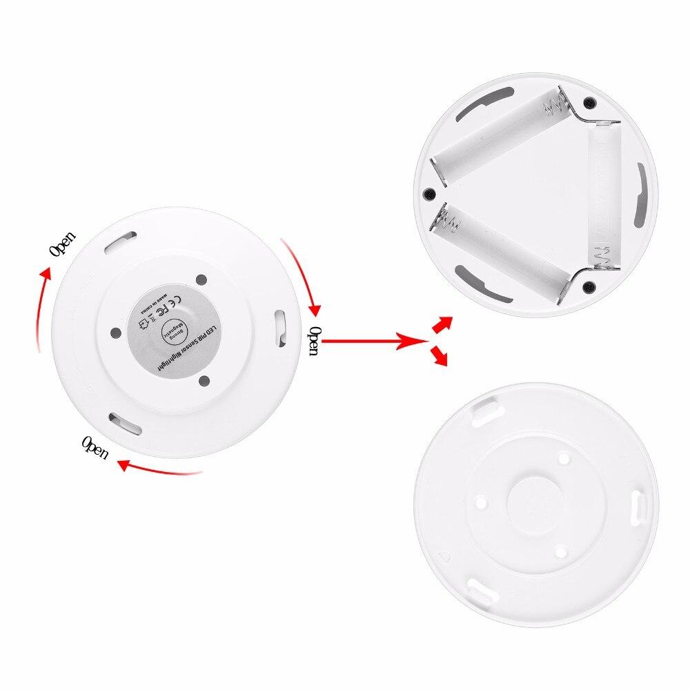Luzes da Noite nightlight sensor de movimento pir Tensão : 3*aaa Bateria