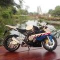 Collectible Modelo Do Veículo Maisto 1/12 S1000RR Motocicleta Diecast Toy Kids Presente