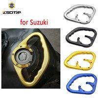 ZSDTRP Passenger Safety Handle Motorcycle Front Tank Handrails for Suzuki GSXR GSX R 600 750 GSXR600 GSXR750 2001 2014