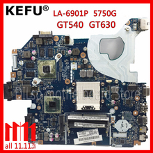 KEFU P5WE0 LA-6901P motherboard for acer 5750 5750G 5755 5755G laptop motherboard