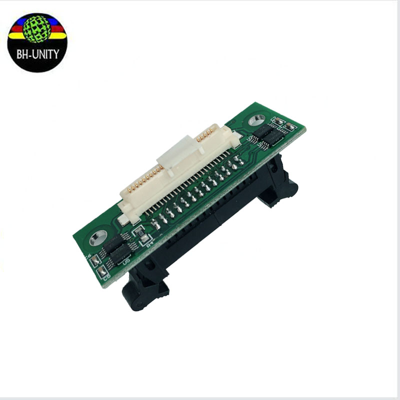 free shipping ! best price !!! Konica 512 printhead connector card transfer board for konica 512 printhead eco solvent printer brand new inkjet printer spare parts konica 512 head board carriage board for sale