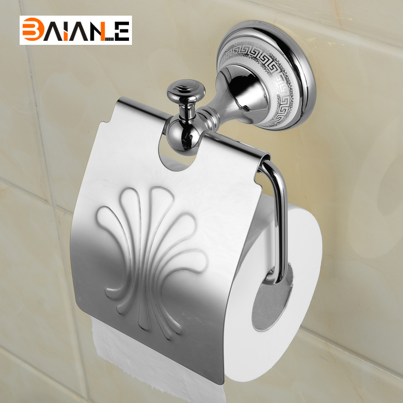Wholesale And Retail Wall Mounted Bathroom Toilet Paper Holder Antique Brass and ceramic Roll Tissue Box free shipping wholesale and retail wall mounted bathroom toilet paper holder antique brass roll tissue box