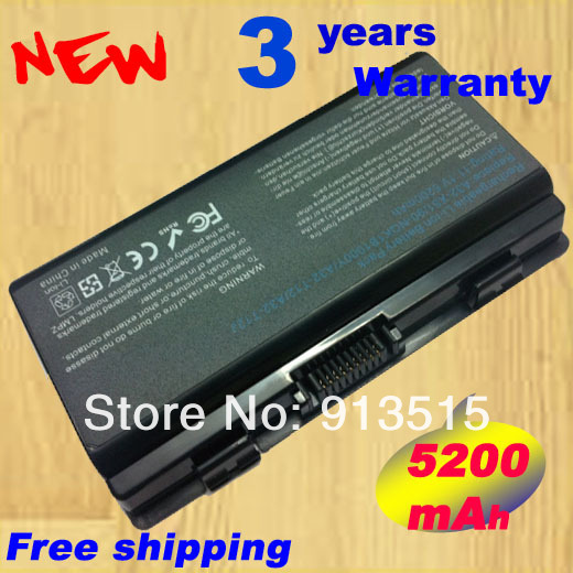 5200mAh New laptop battery For Asus X51 X51C X51H X51L X51R X51RL X58 X58C X58L X58Le 90-NQK1B1000Y A32-X51