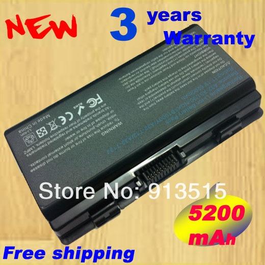 5200mAh New laptop battery For Asus X51 X51C X51H X51L X51R X51RL X58 X58C X58L X58Le 90-NQK1B1000Y A32-X51 brand new laptop keyboard for asus a9 a9rp a9t z94 z94rp z94g x51 x51r x51rl z94l x50 service br version brazil