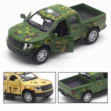 Vehicle model Military Special Police series Alloy pull back Car Camouflage jeep Toys collection gifts for kid 2 colors 1:32