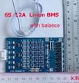 6 S 12А 25.2 В lipo литий-Полимерный BMS/PCM/PCB батареи защита платы для 6 Пакетов 18650 Li-Ion Аккумулятор ж/Баланс