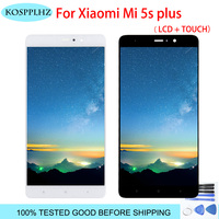 For Xiaomi Mi5S Mi 5S PLus LCD Display With Touch Screen Digitizer Assembly 5.7 1920x1080 For Xiaomi Mi 5S Plus phone LCD+tools