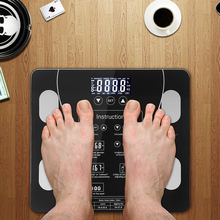 Body Fat Bathroom Scale Floor Scientific Smart Electronic LED Digital Weight Household weighing balance connect Composition xiaomi yunmai fat scale mini 2 balance smart body fat scale app control smart data analysis digital weighing tool xiomi xaomi