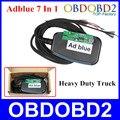Profissional Ferramenta de Diagnóstico Adblue 7 Em 1 Para Heavy Duty Truck Remover A Ferramenta Adblue Emulator 7 Em 1 Navio Livre