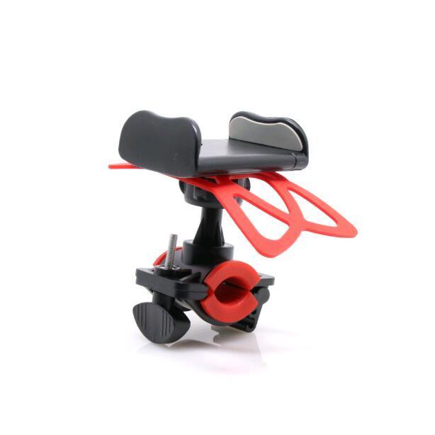 50 pzas/lote bicicleta motocicleta manillar soporte para teléfono con banda de soporte de silicona para Iphone Xiaomi GPS Universal