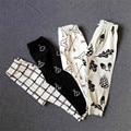Детские Леггинсы Осень Хлопок Детские Брюки Мальчики Девочки Панда Шаровары Мода Новая Детская Одежда Pantalones
