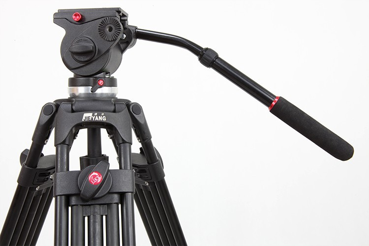 все цены на  JIEYANG JY0508 JY-0508 8KG Professional Camera Tripod Video Tripod/Dslr VIDEO Tripod Fluid Head Damping for video  онлайн