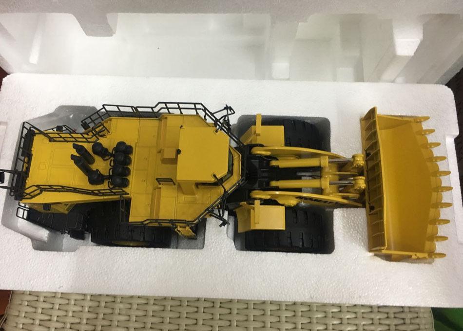 Rare NZG Komatsu WA 1200 Wheel Loader 1:50 Scale Die-Cast Metal Model 889 new weise toys 1 32 scale die cast metal model 1033 mb trac 900 turbo