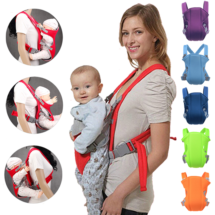 Mother & Kids Backpacks & Carriers Loyal Summer Breathable Baby Carrier Baby Wrap Sling Baby Waist Ergonomic Infant Carrier Front Facing Kangaroo Stool 0-36 Months