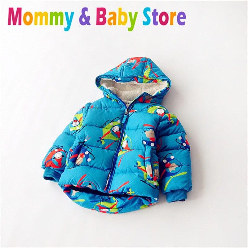 ФОТО Baby Boys' Winter Coat Warm kids Puffer jacket boy Child Brand Zipper Jacket for 3-6 years Kids Export to Euro