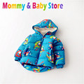 Baby Boys' Winter Coat Warm kids Puffer jacket boy Child Brand Zipper Jacket for 3-6 years Kids Export to Euro