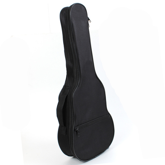 Ukulele Soft Shoulder Black Green Carry Case Bag Musical With straps For Acoustic Guitar Musical Instruments Parts &Accessories 5