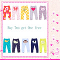 New Arrival 2015 spring autumn carte baby pants girls boys embroidered animals cotton infant trousers baby products