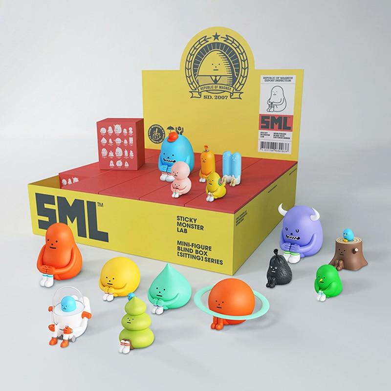 SML Sticky Monster Lab Sitting Fashion Toys Model
