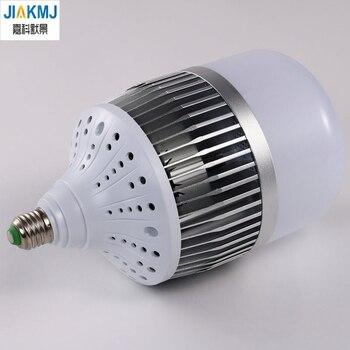 Ультра-яркий светодио дный лампы e27 e40 30 Вт 50 Вт 80 Вт 100 Вт 150 Вт Engineering лампочки 220 В SMD 3535 алюминиевая пластина ampolletas светодио дный лампа