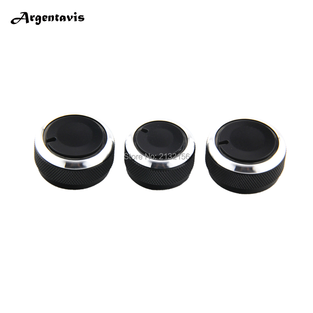 Car ac knob fit for volkswagen vw polo 2004 2013 air turning switch button auto