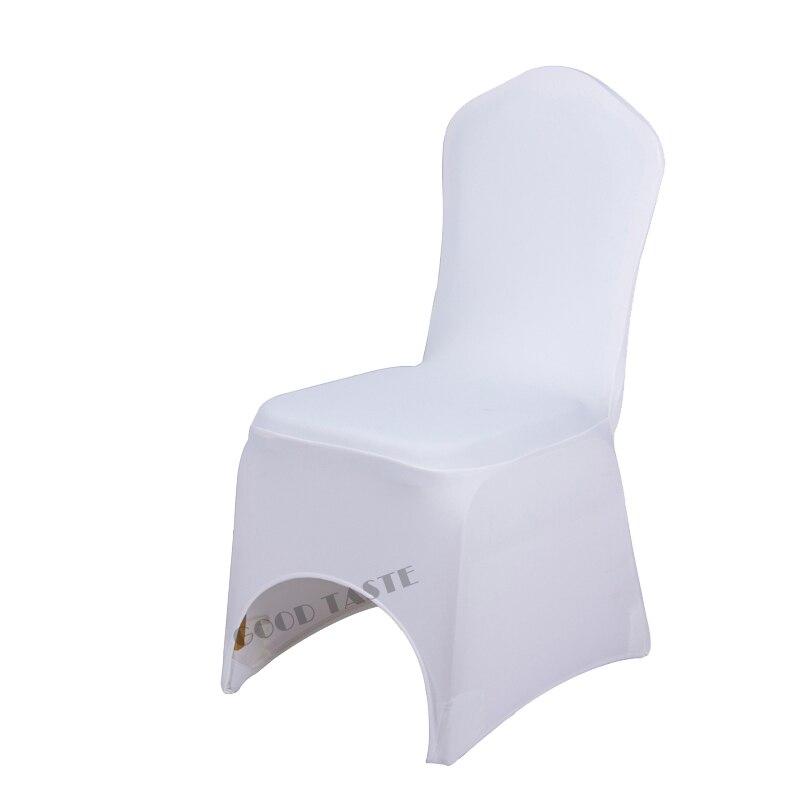50PCS Universal Polyester Spandex Stretch Decor Stuhl Abdeckung Für Hochzeit Partei Bankett Hotel Dinning Feier Zeremonie-in Stuhlabdeckung aus Heim und Garten bei  Gruppe 3