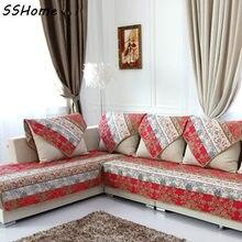 Fashion sofa set cover full double faced cotton stripe 100% slanting slip-resistant sofa cushion fabric cushion fabric customize