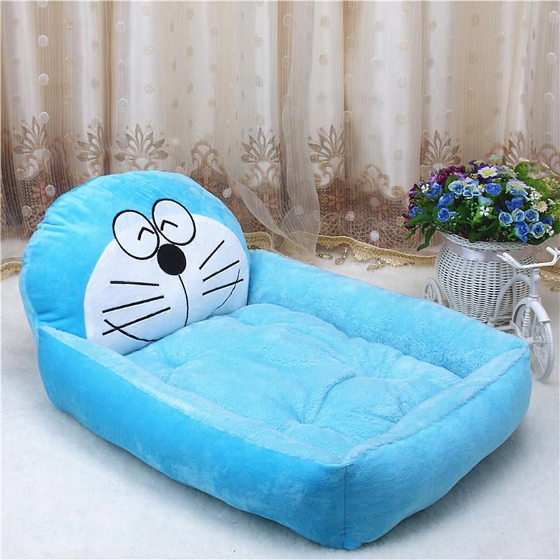 PP Cotton Kennels Cat House Dog Pad Teddy Mats Big Blanket Supplies Cute Pet Dog Bed Mats Animal Cartoon Shaped Pet Sofa Kennels 15