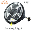 """Motorcycle Accessories Harley led headlight motorcycle 5.75 Inch 12V 5-3/4"""" Head lamp led moto daymaker harley sportster"""