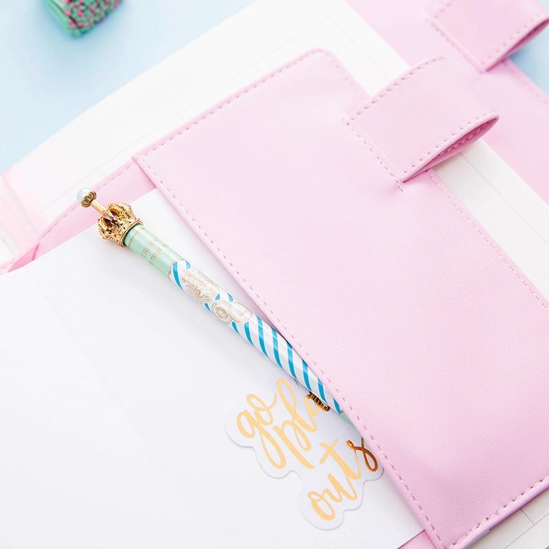 Lovedoki roztomilý kožený obal notebook A5A6 Planner Osobní - Bloky a záznamní knihy - Fotografie 4