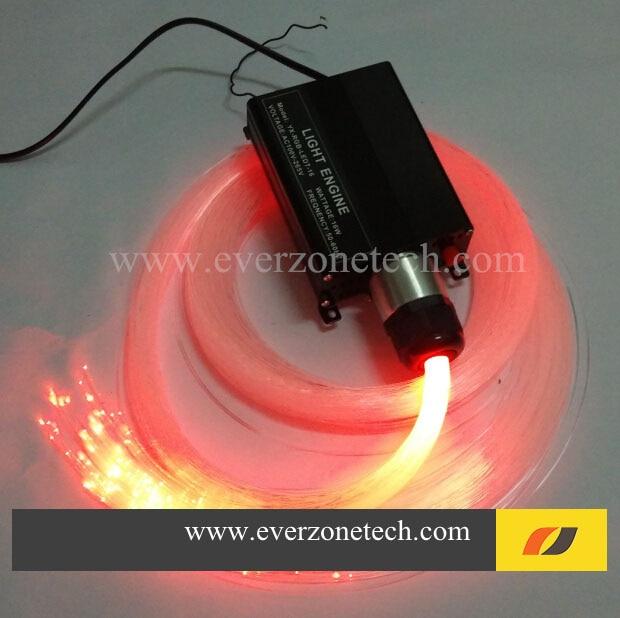 ФОТО FY-1-003B LED Fiber Optic Star Ceiling Kit Light 300pcs 0.75mm *2m with 24keys Remote Control