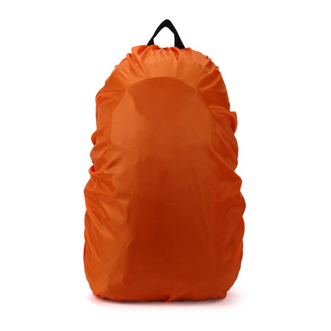 Новый Водонепроницаемый дорожный аксессуар рюкзак пыль дождевик 70L, оранжевый