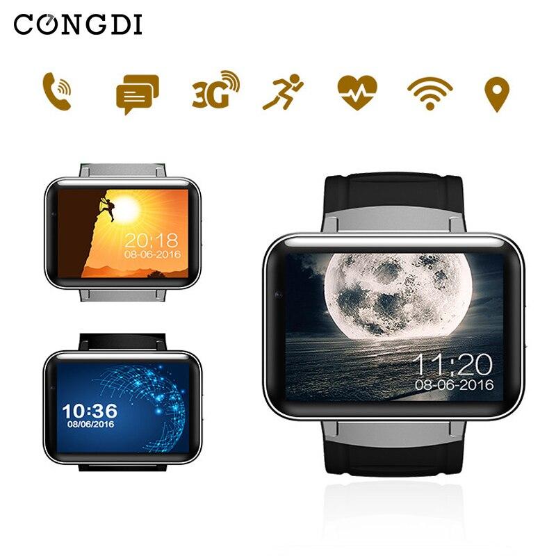DM98 Relógio Inteligente Chamada de Vídeo Empurre Mensagem Music player WiFi GPS de Navegação de posicionamento Global comunicações apoio Whatsapp