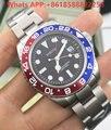 VAKCAK GMT Cerâmica Relógio Automático Auto-Vento 2017 Nova Moda Mens Top Marca De Luxo Relógios Homens Esportes relógio de Pulso Mecânico