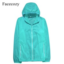 Facecozy Men&Women Summer Quick Dry Hiking Jacket Ultral