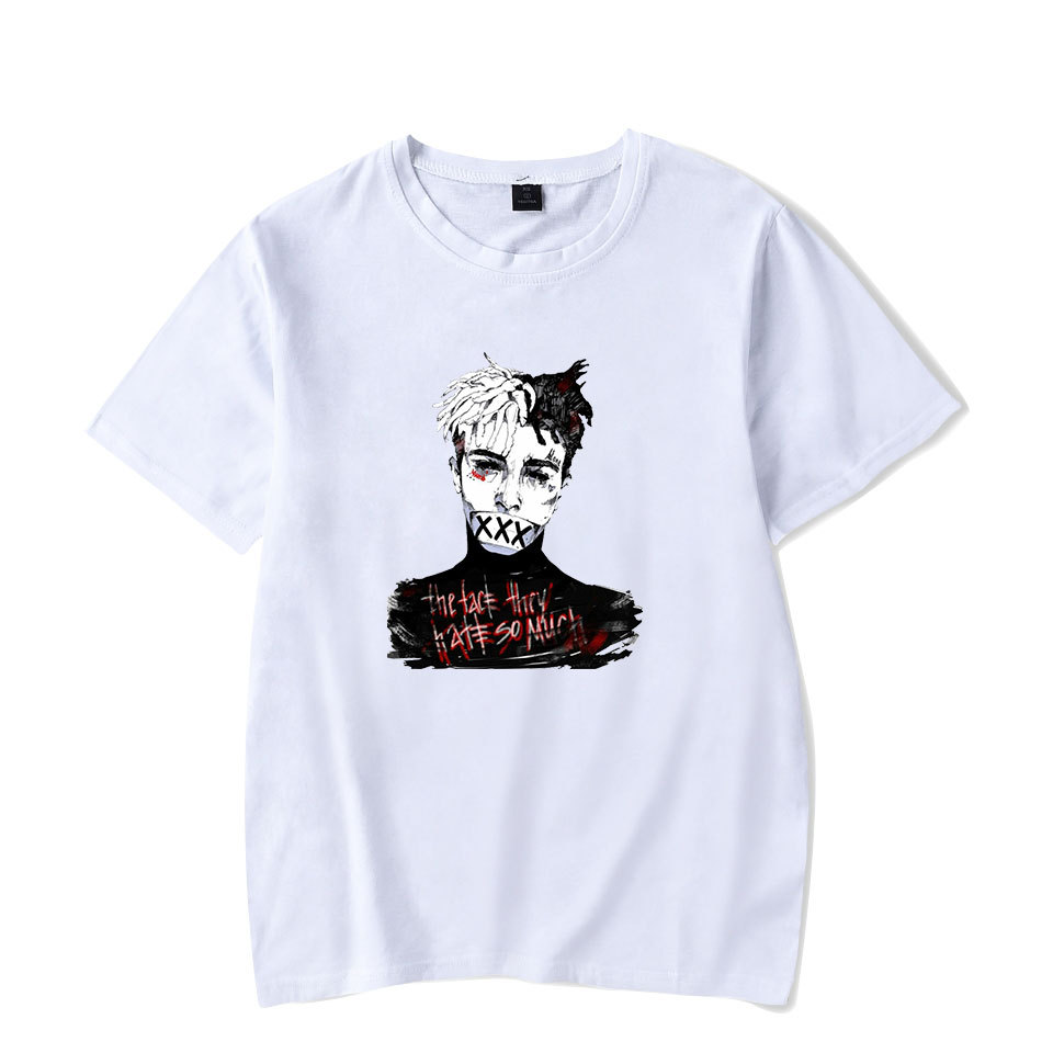 US $8 27 8% OFF XXXTentacion Revenge men T shirt Bad Vibes forever Adult  Tee Unisex short sleeve causal Top Tshirt New-in T-Shirts from Men's  Clothing