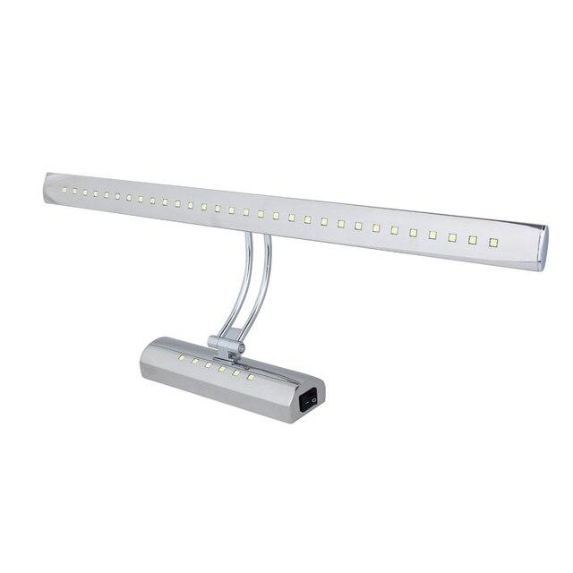 7 Watt Dual Lichtquelle LED Spiegelleuchte Edelstahl Bad Licht ...