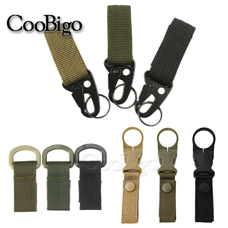 5Pcs Climbing Carabiner EDC Plastic Steel Hook S Type Dual Buckle Keychain Hot
