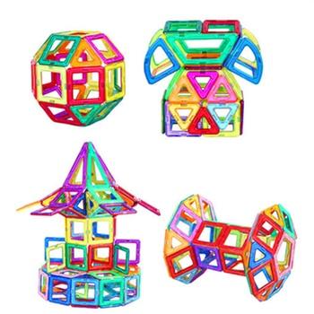 1 PCS standard size Magnetic Building Blocks 24 different types Kids Educational Toys Plastic DIY Blocks toys 8