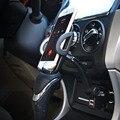Suporte Do Telefone Do Carro Universal carregador de isqueiro 2 usb para samsung galaxy s2 s3 s4 lenovo lg motorala zte tcl xiaomi