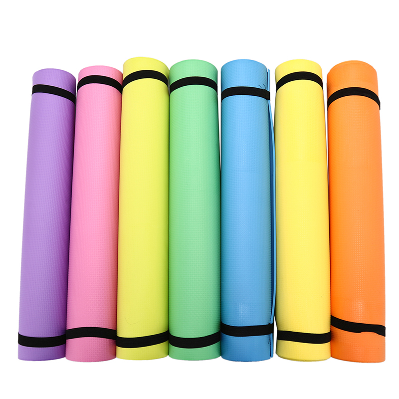 6mm Thick EVA Comfort Foam Yoga Mat For Exercise Yoga And Pilates font b Fitness b