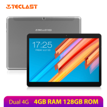 Teclast M20 Dual 4G Phone tablet 10.1 inch 1920*1200 MT6797 X23 Deca Core 4GB RAM 128GB ROM Dual Wifi Tablets PC Android 8.0 GPS цена