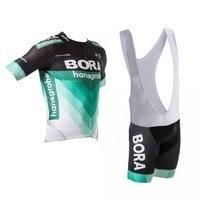 2018 New Pro Teams Kits Cycling Jerseys Set Summer Mens Bicycle Maillot Breathable MTB Short Sleeve