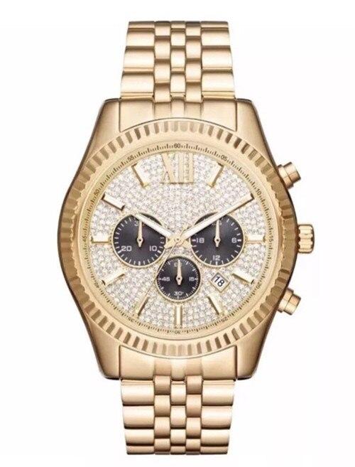Fashion classic business big Dial Watch M8494 M8515 + Original box + Wholesale and Retail + Free Shipping цены онлайн