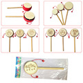 Baby Kids Child Wood Rattle Drum Instrument Child Musical Toy Chinese Styles New Hot!