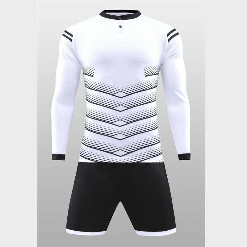 dca4b14899a ... New Soccer Uniforms Customize Football Jerseys Soccer Sets 2 Pcs Training  Suits Long Sleeve Goalkeeper Clothes ...